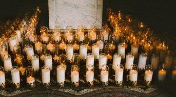 Encens, bougies