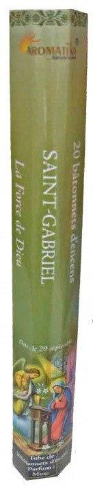 Encens naturel Saint Gabriel Archange tube de 20 bâtonnets