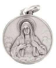 Médaille du Cœur Immaculé de Marie - argent