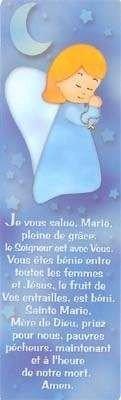 Signet pour enfant - Vierge Marie