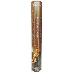 Encens naturel Saint Antoine tube de 20 bâtonnets