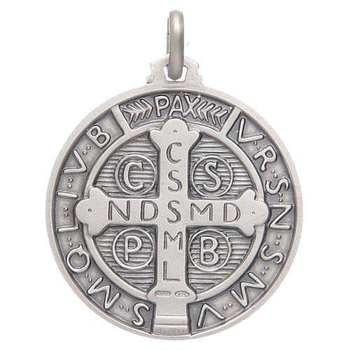 Médaille Saint Benoit - argent