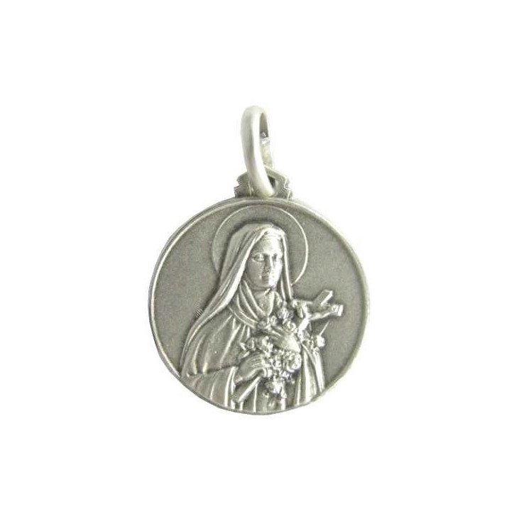 Médaille Sainte Thérèse - argent