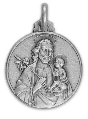 Médaille Saint Joseph - argent