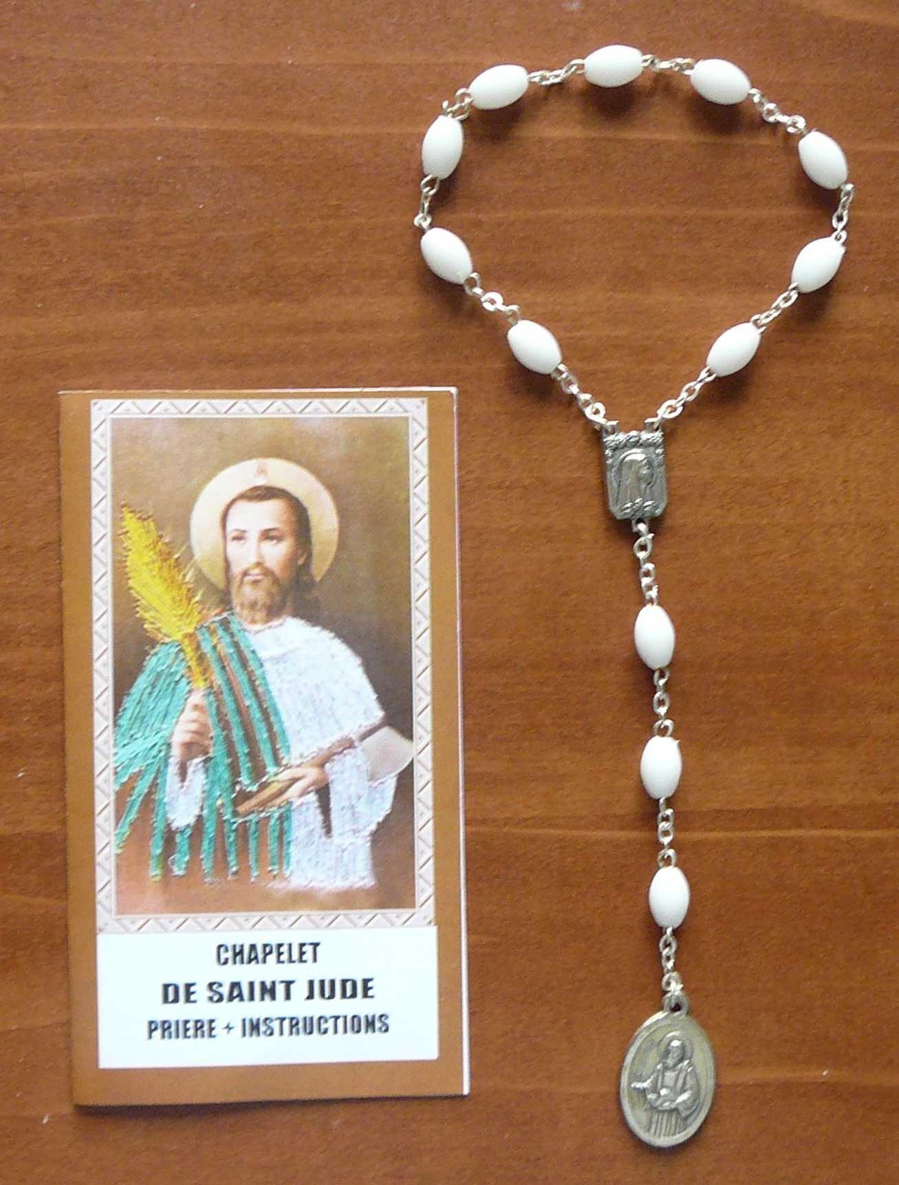 Chapelet de saint Jude