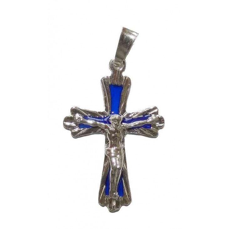 Croix pendentif en argent 925/1000