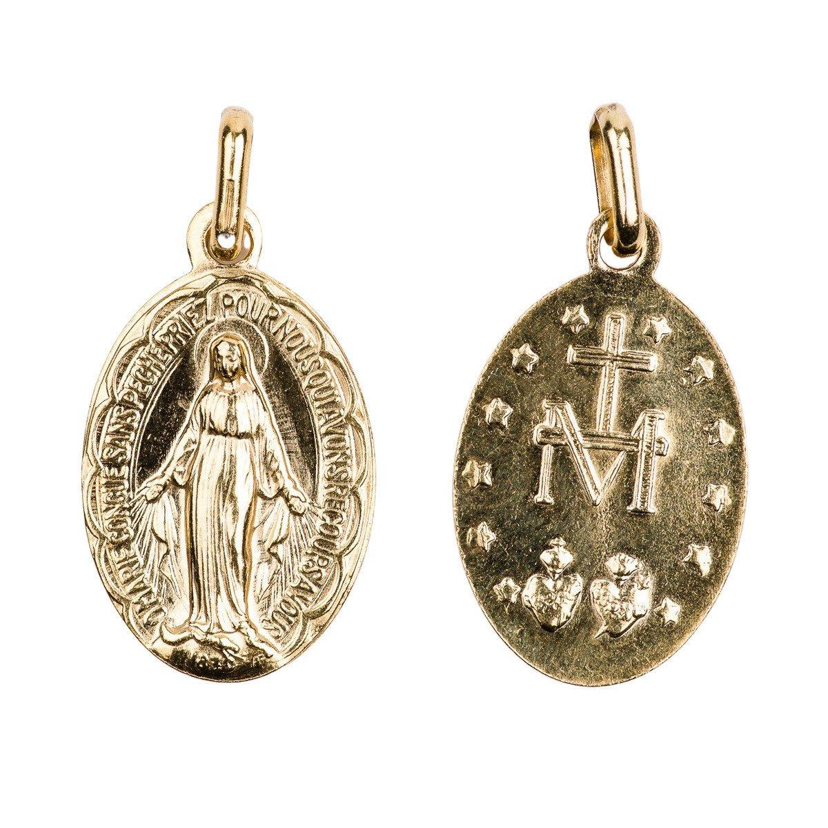 Médaille Miraculeuse festonnée - 19 mm