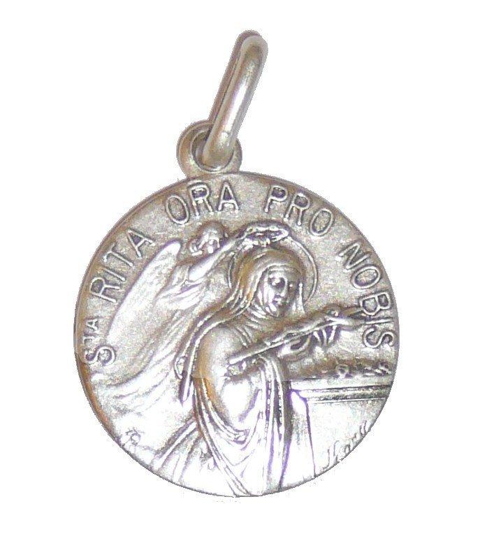 Medaille Sainte Rita - 18 mm