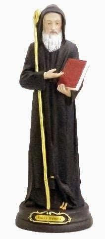 Statue de Saint Benoit