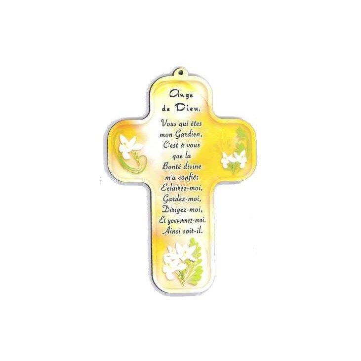 Croix enfantine - 'Ange de Dieu'