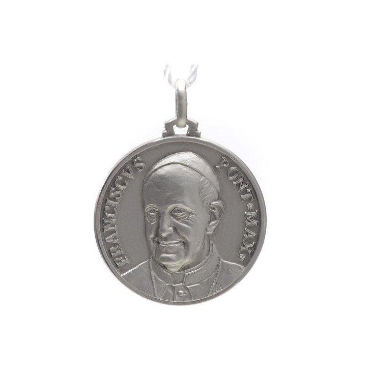 Médaille Pape François - argent