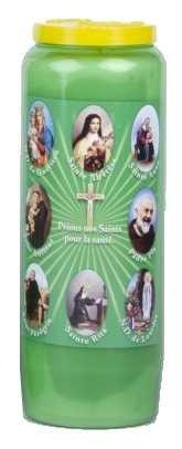 Bougie parfumée au muguet pour la santé