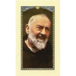 Image avec prière - Padre Pio