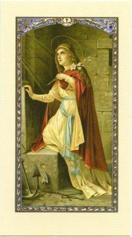 Image avec prière - Sainte Philomène