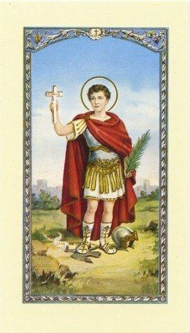 Image avec prière - Saint Expédit