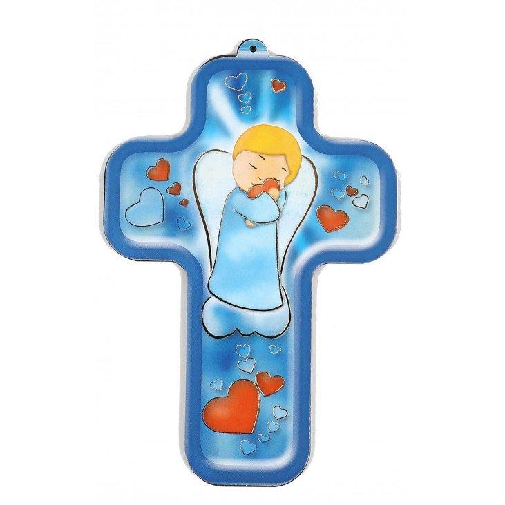 Croix enfantine - Ange tendresse
