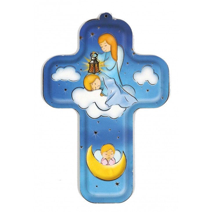 Croix enfantine - Ange Gardien