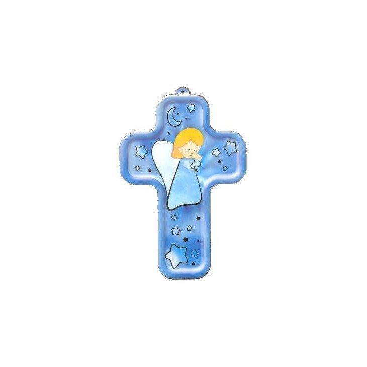 Croix enfantine - Ange en prière