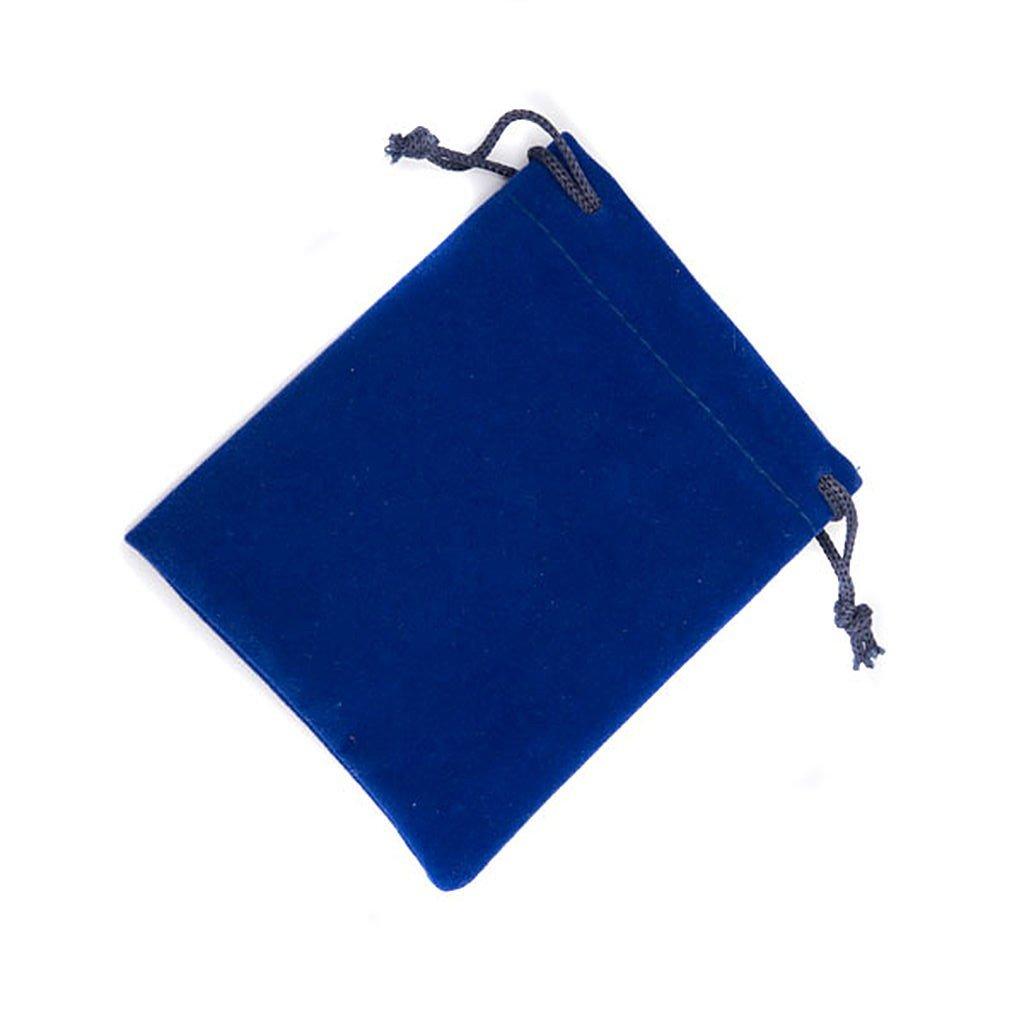 Étui en tissu bleu pour chapelet