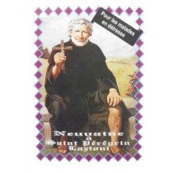 Livret Neuvaine Saint Peregrin Laziosi pour les malades en détresse