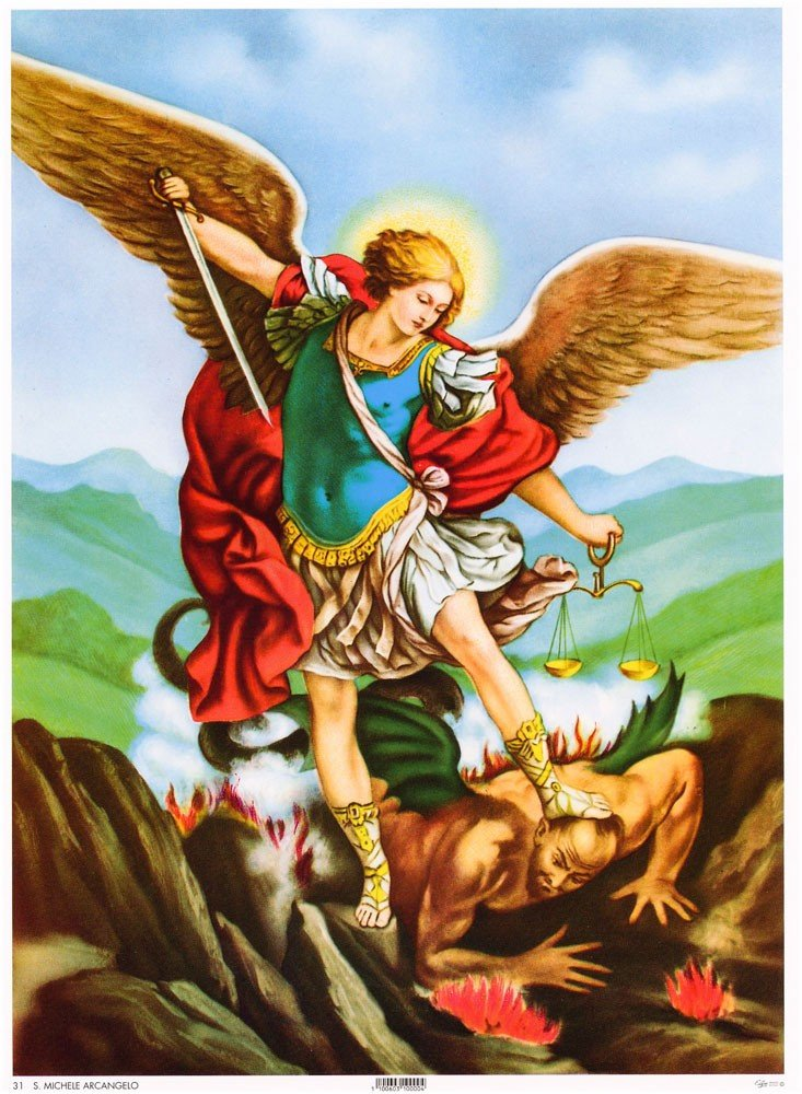 Carte postale de Saint Michel Archange