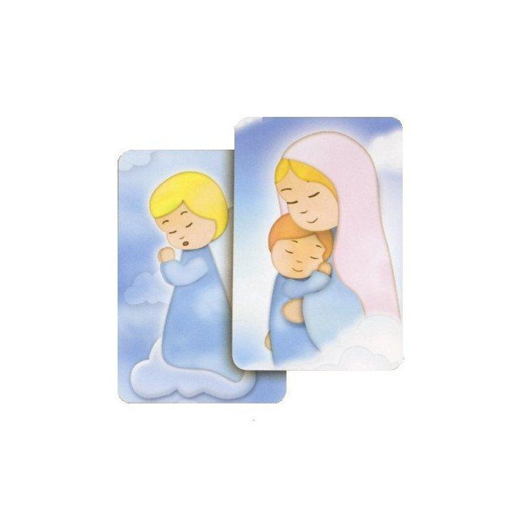 Carte bidimensionnelle - Vierge à l'enfant