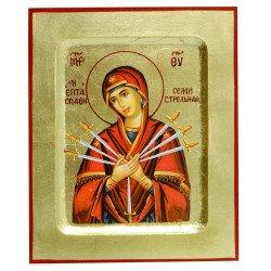Icône Vierge des 7 Douleurs
