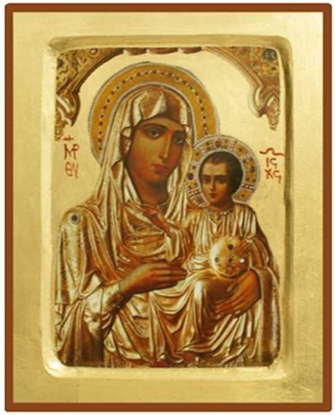 Icône Vierge de Jérusalem