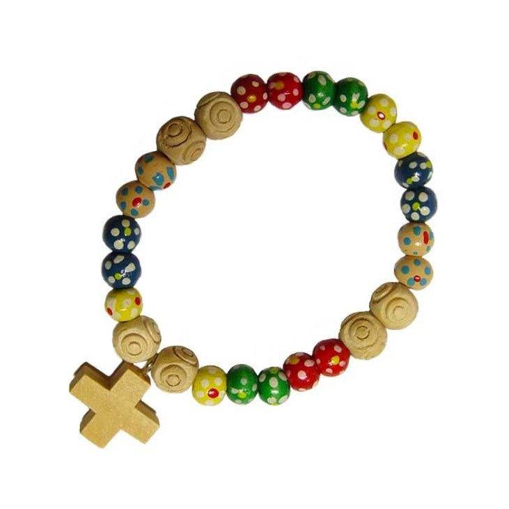 Bracelet missionnaire - Bois