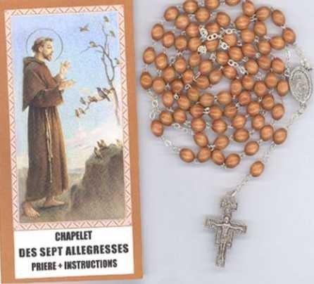 Chapelet des 7 allégresses de saint François