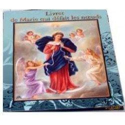 Livret Prière Neuvaine à Marie qui Défait les Noeuds