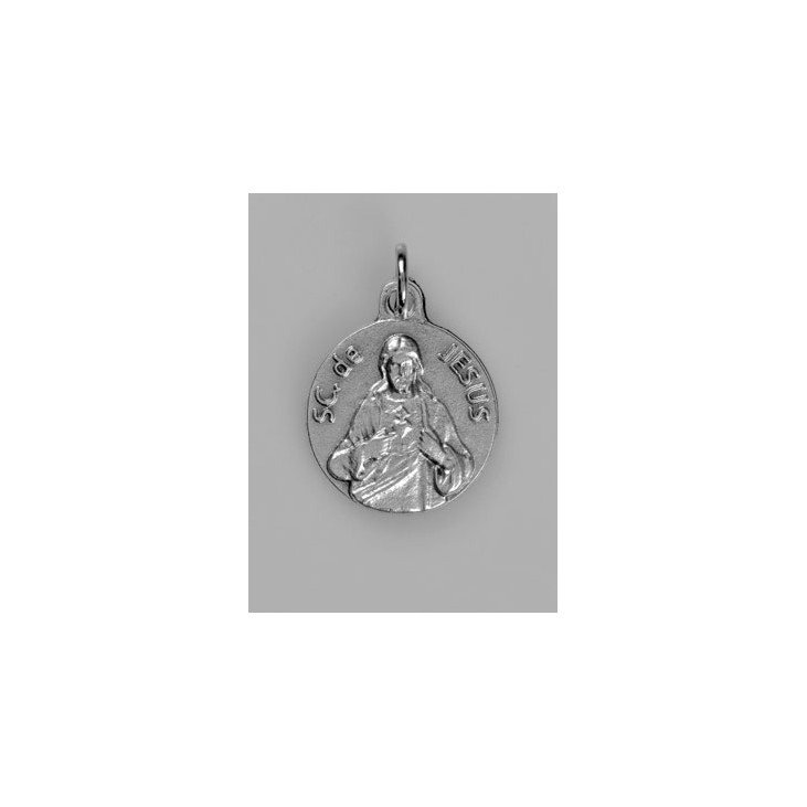 Médaille Sacré Coeur de Jésus - 18 mm