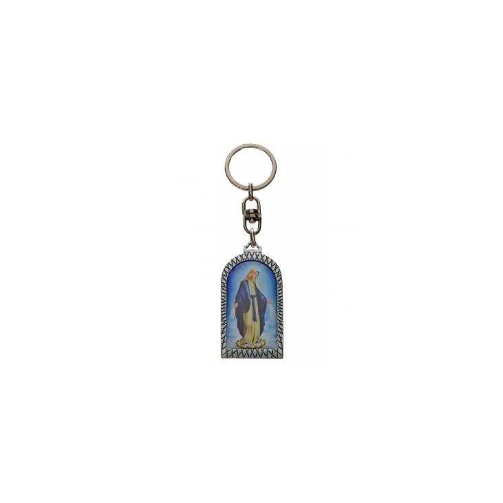 Porte-clé Vierge Miraculeuse