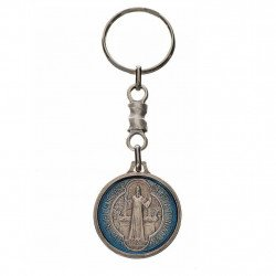 Porte-clé médaille Saint Benoît
