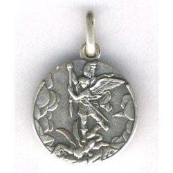 Médaille Saint Michel en métal - 18 mm
