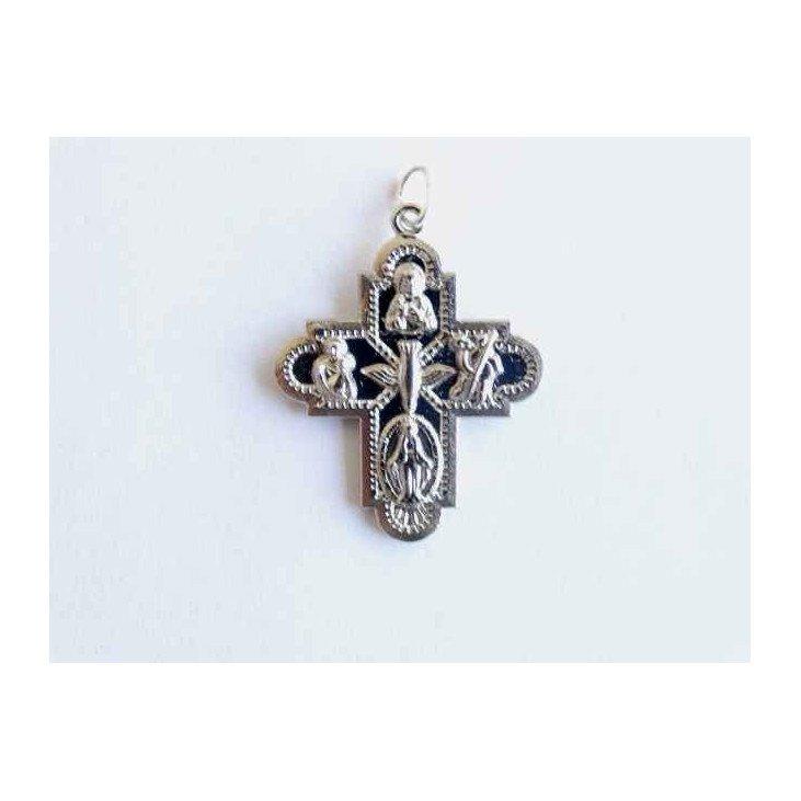 Croix pendentif des Saints - métal