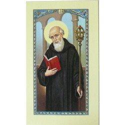 Image avec prière - Saint Benoît