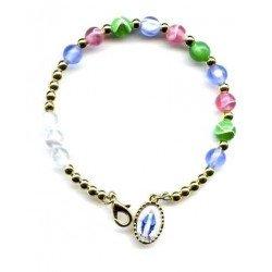 Bracelet Vierge Miraculeuse multicolore