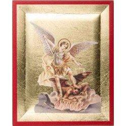 Icône de Saint Michel Archange - 8 cm