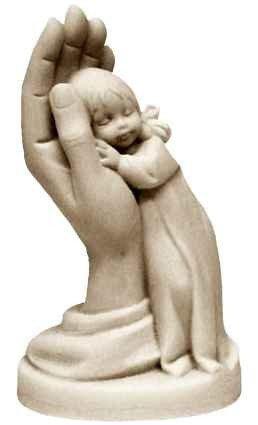 Rêve de fille en albâtre - 11 cm