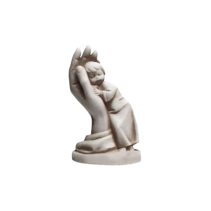Rêve de garçon en albâtre - 11 cm