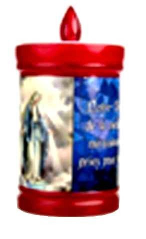 Bougie de la Vierge Miraculeuse