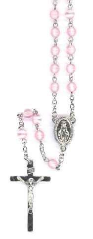 Chapelet Vierge Miraculeuse - Rose