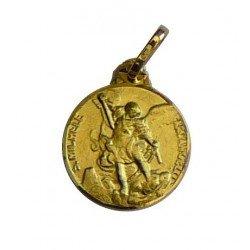 Médaille saint Michel Archange or 18 carats