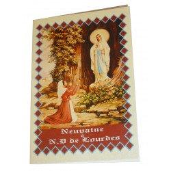 Livret neuvaine à Notre Dame de Lourdes