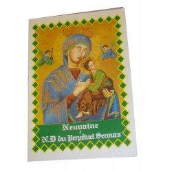 Livret neuvaine à Notre Dame du Perpétuel secours