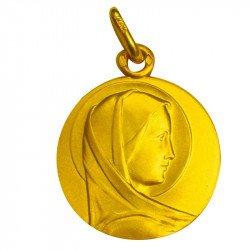 Médaille de la Vierge Marie - plaqué or