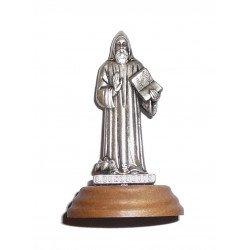 Statue Saint Benoit - Métal