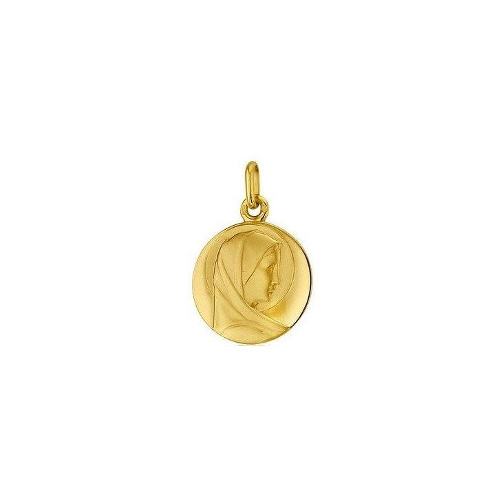 Médaille de la Vierge Marie - or 18 carats