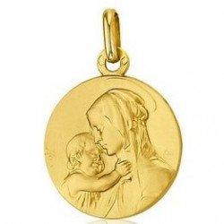 Médaille de la Vierge de Tendresse - or 18 carats